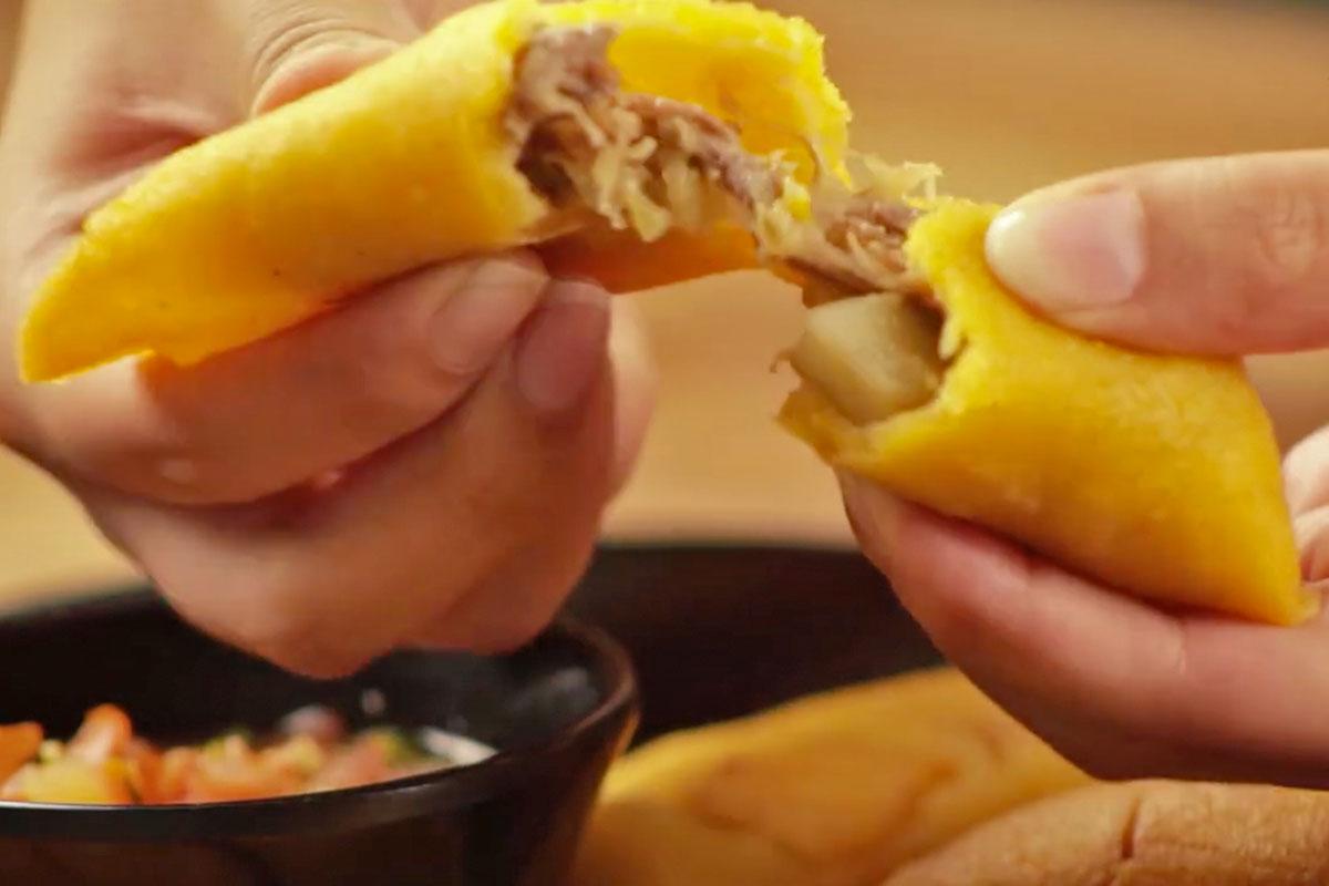 Recetas de empanadas colombianas hechas con Doñarepa