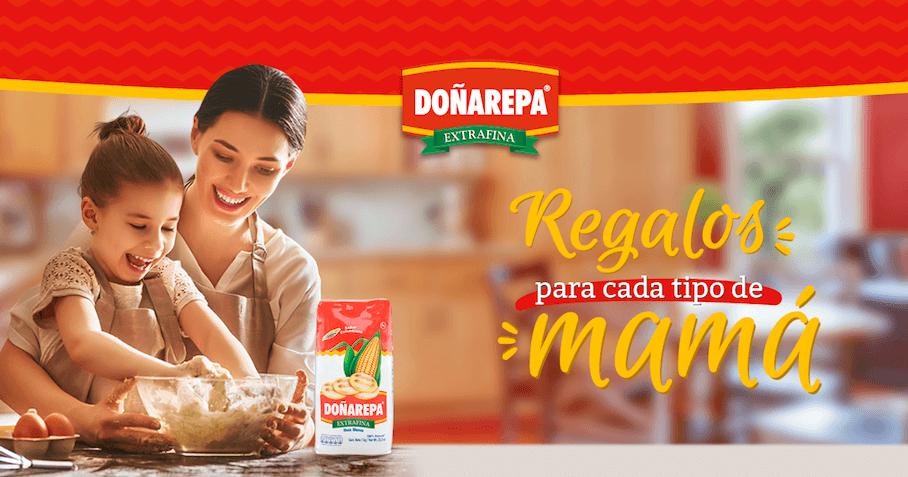 Cena para mamá hecha con productos Doñarepa