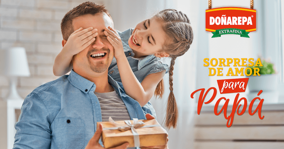 Comidas para el día del padre con productos Doñarepa