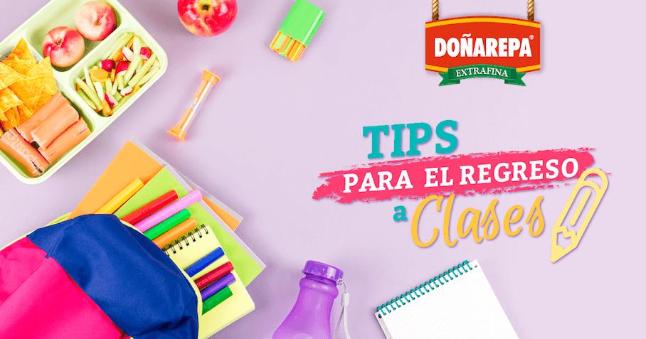 Recetas de cocina para niños con productos Doñarepa