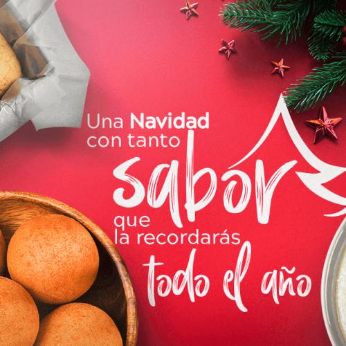Recetas para navidad elaboradas con productos de Doñarepa
