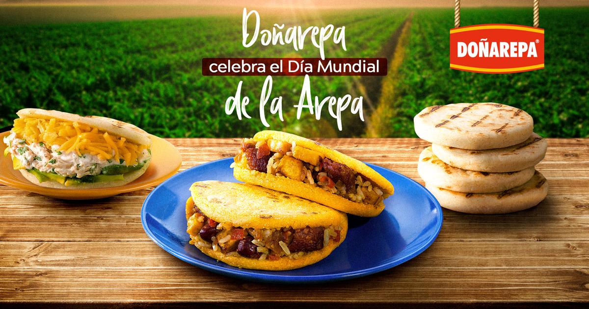 Día mundial de la arepa - Blog - Doñarepa